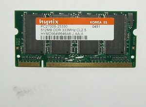 512MB Arbeit Speicher Memory hp Compaq nx9005 nx9010 nx9000 Arbeitspeicher