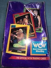 1991 WCW Trading Cards Box World Championship Wrestling New Sealed Damaged Box