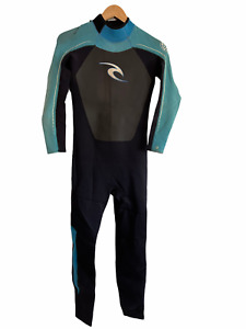 Rip Curl Childs Full Wetsuit Youth Size 16 Classic 3/2 Sealed