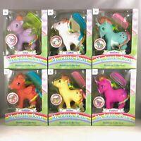 My Little Pony Rainbow Ponies 35th Anniversary Wave 2 - Set of 6 Retro MLP G1