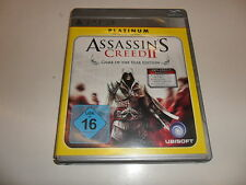 PLAYSTATION 3 PS 3 ASSASSIN 'S CREED 2-Game of The Year Edition Platinum []