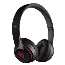 Original Beats by Dr. Dre Solo 2 2.0 Wired On Ear Headphones - Black Red White