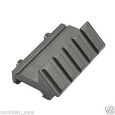 45 Degree Offset 20mm Picatinny Weaver Rail Mount For Scope Touch Laser Sight