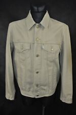 LEVI'S TRUCKER JACKET WHITE LABEL MENS size L