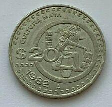 1982 MEXICO 20 PESOS COIN