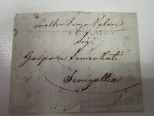 1843 STATO CHIESA lettera PERUGIA-SENIGALLIA+LINEARE PERUGIA-g850