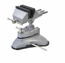 Mini Table Top Vice Clamp W/ Strong Suction Base Hobby Craft Electronics Model