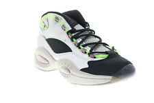 Reebok Question Mid Minions The Rise of Gru Mens Silver Athletic Shoes
