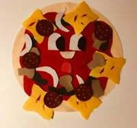 I Am A Pizza Felt Story - Children's Felt Story / Flannel Board Story