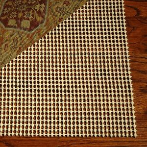 Area Rug Carpet Pad 8x11 Non Skid Slip Underlay Nonslip Pads 8 x 11 Large Size