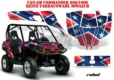 AMR RACING DEKOR GRAPHIC KIT UTV CAN-AM COMMANDER,MAVERICK REBEL B