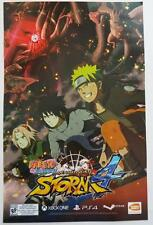 NEW  NARUTO Ultimate Ninja STORM 4   Poster  2015  SDCC   11 x 17