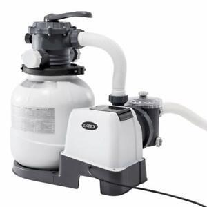Pompa filtro a sabbia 26646 Intex 7900 l/h per piscina piscine fuori terra Rotex