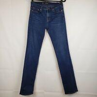 J Brand womens Denim Skinny Jeans Cigarette leg Size 28 Stretch