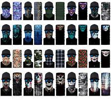 Face Balaclava Scarf Neck Fishing Shield Sun Gaiter Uv Headwear Mask 20 Styles