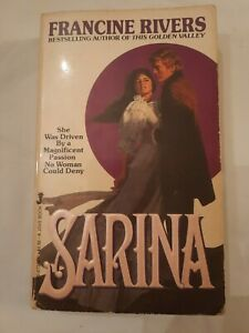 Sarina By Francine Rivers Historical Romance Paperback Book