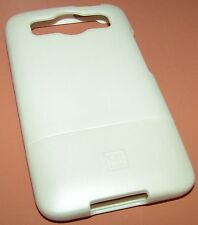 Platinum Hard Shell case for HTC Inspire 4G, White Rubberized Matte finish, NEW