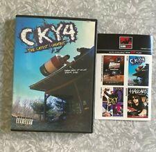 New listing CKY4 The Latest & Greatest DVD Bam Margera Skate Video Skateboarding Him 2002