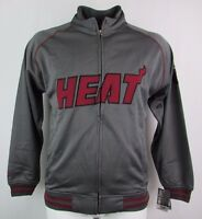 Miami Heat NBA Men's Big & Tall Full-Zip Majestic Track Jacket