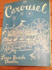 Carousel Jones Beach Theatre Playbill, Guy Lombardo Presents Exc. Condition 1973