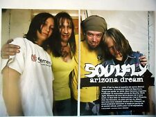 COUPURE DE PRESSE-CLIPPING :  SOULFLY [8pages] 08-09/2005 Max Cavalera,Dark Ages