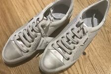 GEOX RESPIRA Ladies Leather Breathable Trainers - New - Size 7/40