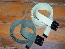 Belt Canvas Two Army Military Fashion Sport Green Khaki Belt Casual Jeans w P38