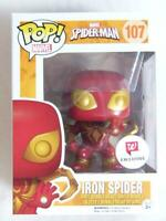 FUNKO POP VINYL | MARVEL | IRON SPIDER 107 WALGREENS with FREE PROTECTOR