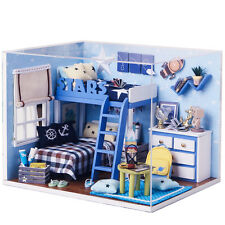 DIY Handcraft Miniature Project Dolls House Kit My Little Boys Star Trek Bedroom
