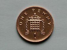 UK (Great Britain) 2004 1 PENNY (1p) Elizabeth II Coin From Mint Set - BU UNC