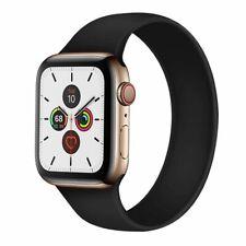 Solo Elástico Cinturón Correa de Silicona para Apple Watch 6 se 5 4 3 2 1 banda Iwatch