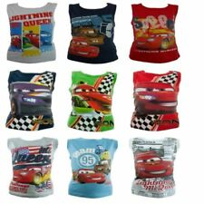 Novelty/Cartoon Vest Top Sleeveless T-Shirts & Tops (2-16 Years) for Boys