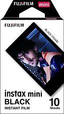 Fujifilm Instax Mini Border Film 10 Shots - Black