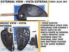K108 TELECOMANDO ALFA ROMEO 147 COVER GUSCIO 2 TASTI CHIAVE COME DA FOTO