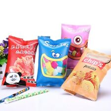 Simulation Of Candy Spicy Cartons Pencil Case PU Pen Bag Kawaii Stationery Pouch