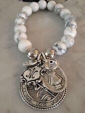 Howlite Tibetan Silver Fashion Jewellery