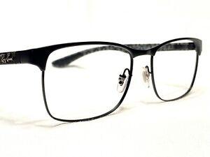 Ray Ban RB8416 2503 Men's Black Carbon Fiber Eyeglasses Frames 55/17~145