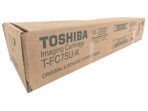Genuine Toshiba T-FC75U-K Black Toner Cartridge