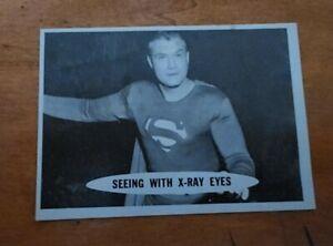1966 Superman trading card # 24