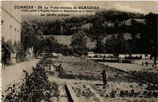 CPA  Le Preventorium du Glandier - Le Jardin Potager  (692573)