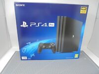 EMPTY BOX ONLY - Sony Playstation 4 Console - PS4 Pro Black - Box Packaging
