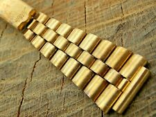 Vintage Mido Stainless Steel Pre-Owned Watch Band 16mm Mens Deployment Clasp