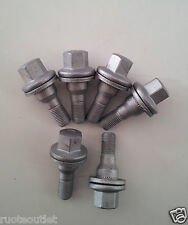 KIT 16 BULLONI 12x1,25x35 VITE CH17 C/RONDELLA x PEUGEOT 207 W**** 2006> acciaio