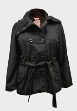 New Womens Ladies Black Paris Blues Jacket Coat Plus sizes XL, 2XL, 3XL,18-26