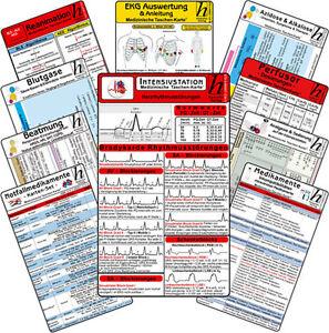 Intensiv-Station Karten-Set - professional ( 12 Karten-Set )
