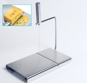 Cheese Butter Slicer Cutter Board Stainless Steel Wire Cutter Baking Tools Home