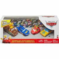 Disney Pixar CARS - Mater, McQueen, Ramone, Maddy McGear - Fan Favorites 4-Pack