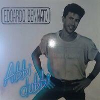 VINILE LP EDOARDO BENNATO - ABBI DUBBI 33 GIRI ANNO 1989 VIRGIN ITALY EB 955