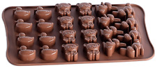 bear duck rabbit Silicone Cake Chocolate Moulds Decorating Baking Cookies Mold