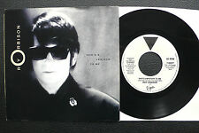"""7"""" Roy Orbison - She's A Mystery To Me - USA Virgin Promo"""